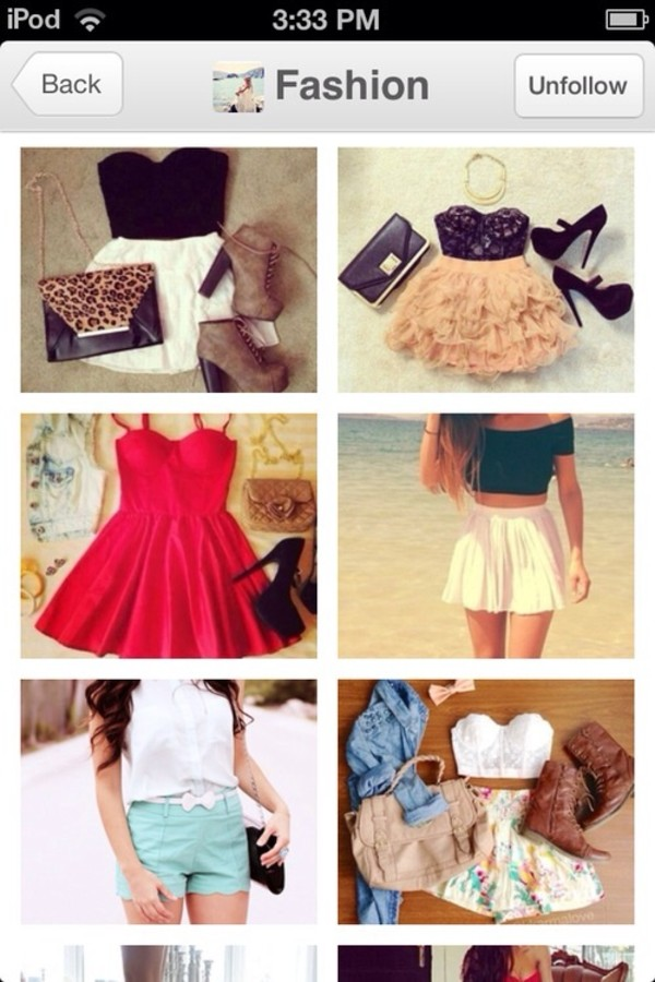 tank top skirt bag shoes dress shorts