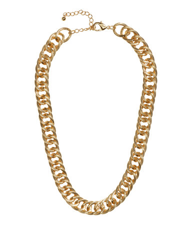 H&M Chain necklace £6.99
