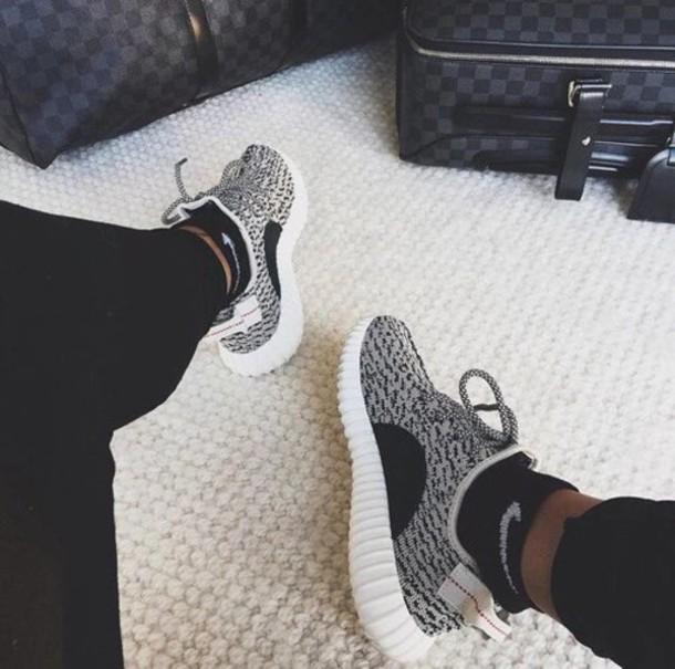 adidas yeezy black/white adidas yeezy boost 350 black fabric