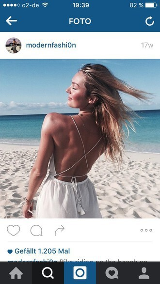 romper white dress white beach dress beach strappy cute flawless summer dress summer outfits summer white romper