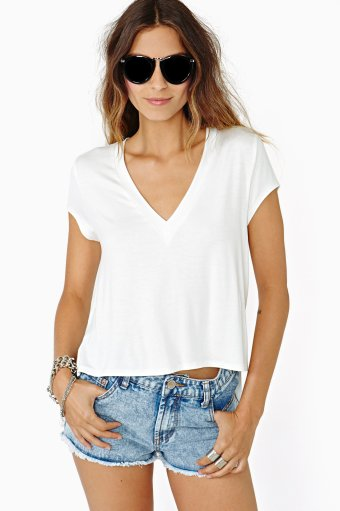 Lazy Daze Tee - White on Wanelo