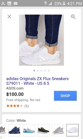 shoes white adidas shoes adidas zx flux