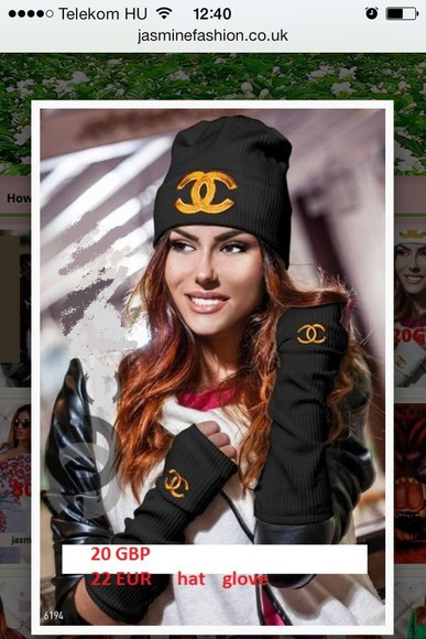 cap chanel brand luxury