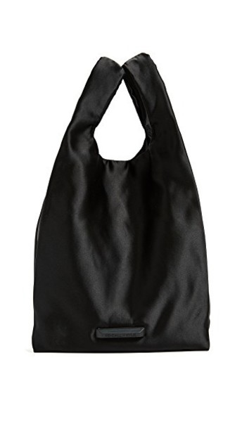 KENDALL + KYLIE bag black satin