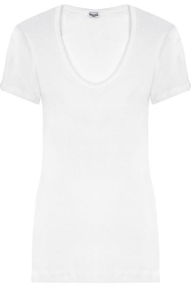 Splendid - Cotton and modal-blend jersey T-shirt