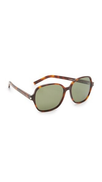 classic light sunglasses green
