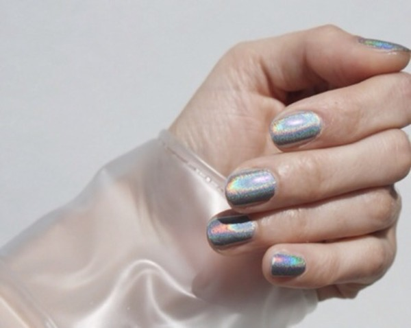 nail polish holographic nail varnish holographic pale hipster pretty cute Accessory love neon dope dope cool