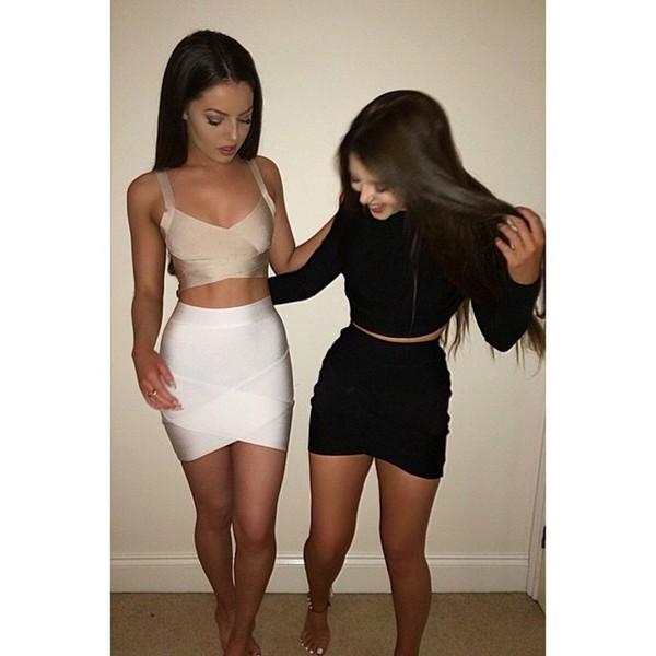 skirt, outfit made, skirt, bandage, club dress, bandage ...