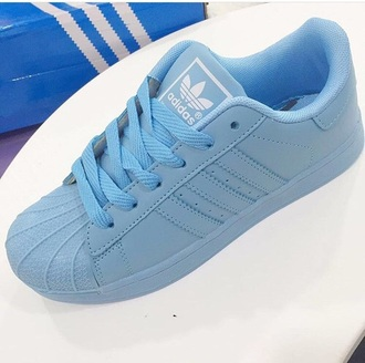 shoes adidas blue sneakers