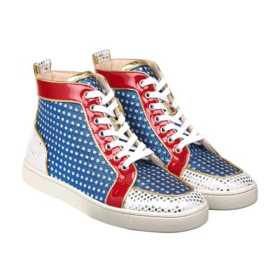 christian louboutin superball woman multi sneakers womenswear shoes sneakersshop the. Black Bedroom Furniture Sets. Home Design Ideas