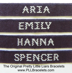 PLLBracelets.com - Home of the Original Pretty Little Liars Bracelets