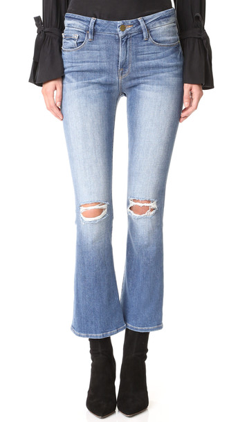 Frame Le Crop Mini Boot Jeans - Stony Creek