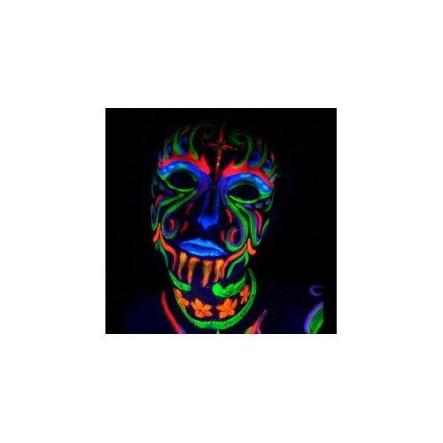 Amazon.com: Black Light Reactive Neon Makeup with Black Light Pendant (Yellow): Everything Else