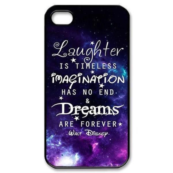 Phone Cover Walt Disney Imagination Quote On It Case
