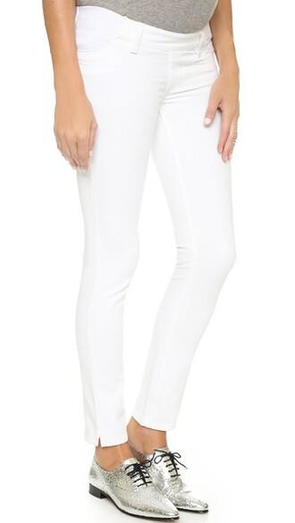 jeans angel white