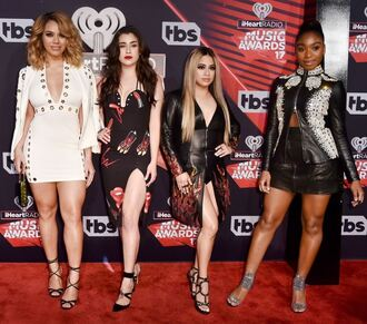 dress fifth harmony sandals sandal heels leather mini dress ally brooke normani kordei hamilton normani hamilton lauren conrad lauren jauregui dinah hansen dinah jane hansen