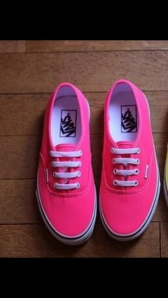 shoes neon vans