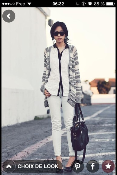 black white blouse white blouse jacket black and white blouse asian asiatic woman dress
