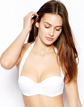 ASOS | ASOS Mix and Match 50s Halter Padded Bikini Top at ASOS