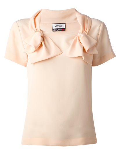 Moschino Bow Detail Blouse - Stockholm Market - Farfetch.com