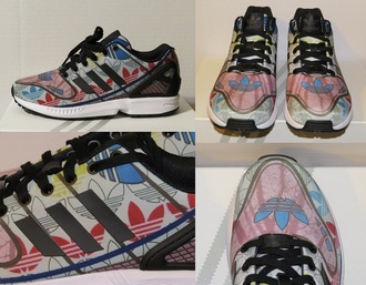 shoes adidas sneakers zx flux adidas zx flux running shoes custom sneakers