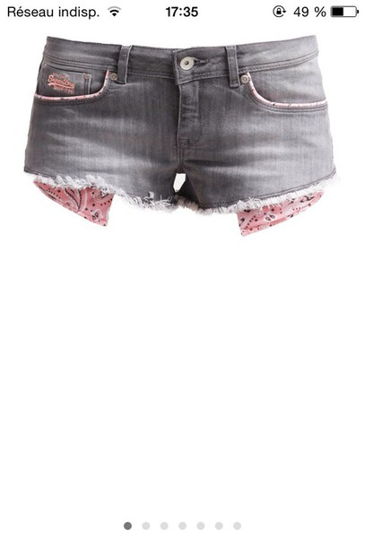 shorts superdry american classic top