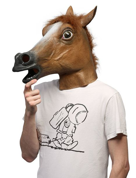 fur halloween halloween costume costume horse horse mask hat fall outfits cool youtuber funny t shirt kfashion wheretoget
