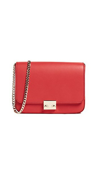 Loeffler Randall bag shoulder bag bright red