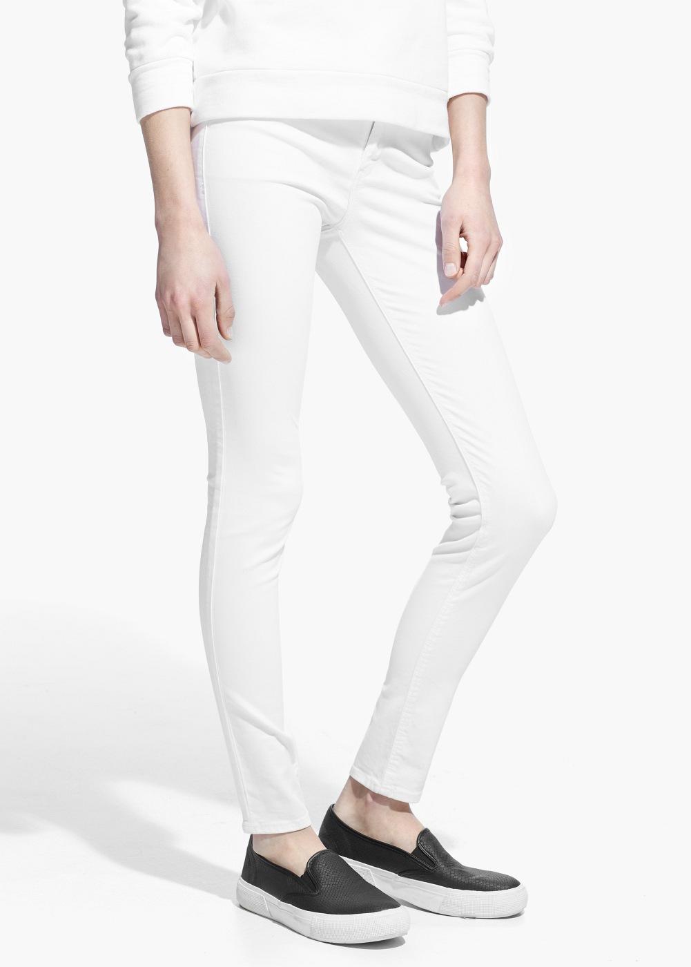 skinny jeans elektra damen mango. Black Bedroom Furniture Sets. Home Design Ideas