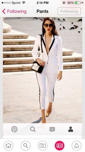 jeans calf length cute pants dressy fancy pants fashion colorblock