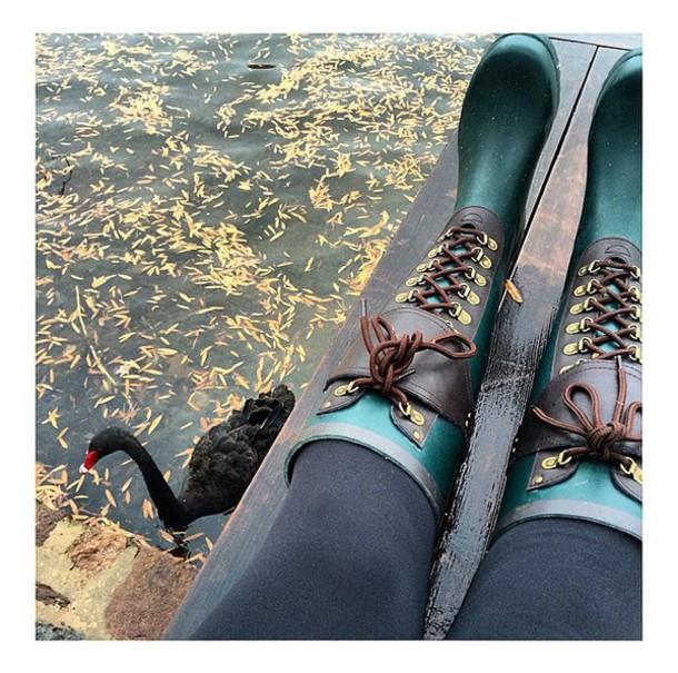 shoes boots rain wellies