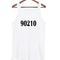 90210 font tanktop