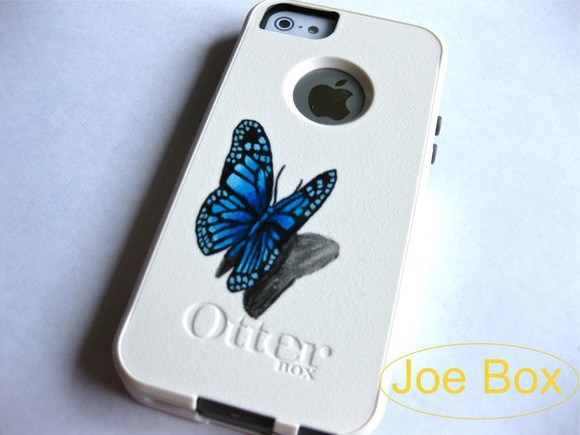 cute butterfly dress otterbox iphone cover iphone case iphone 5 cases iphone 5 case iphone 5 cover etsy etsy sale sale etsy.com phone cases light blue bling glitter iphone 5s cases iphone 5s cover