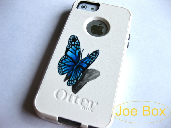 dress otterbox iphone cover iphone case iphone 5 case iphone 5 case iphone 5 case etsy etsy sale sale etsy.com butterfly phone cover light blue cute bling glitter iphone 5 case iphone 5s