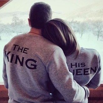 sweater the king his queen king and queen