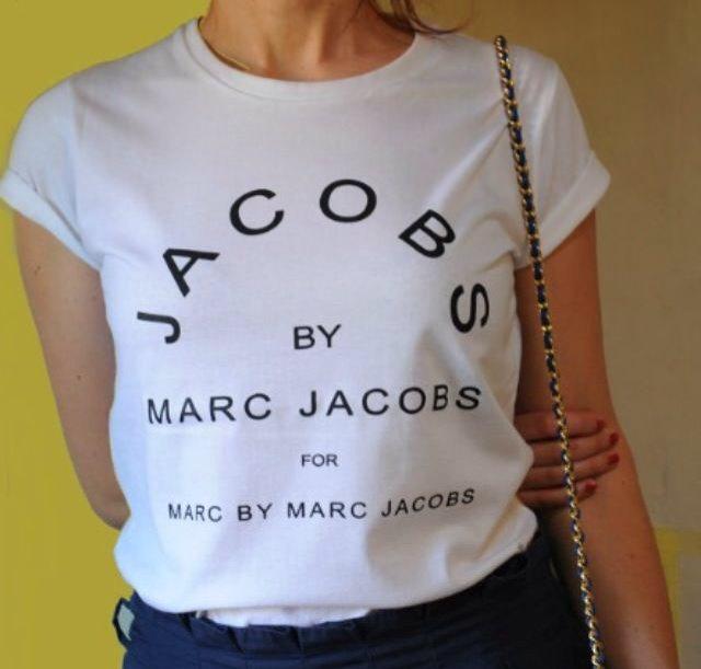 Marc jacobs tshirt, stile stampate tshirt tshirt donna, tee donna, cool tshirt, abbigliamento, cool abbigliamento