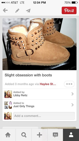 shoes studs boots ugg boots uggs with studs