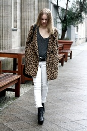 leopard print,jacket,faux fur