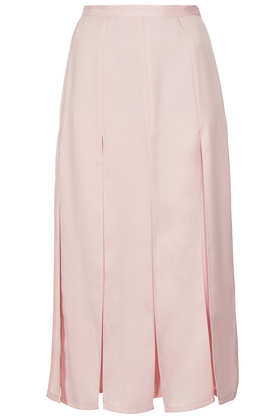 Spliced Midi Skirt - Topshop