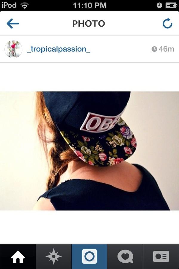 hat cute snapback