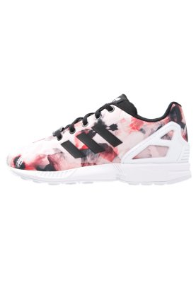 f578c9de8 adidas Originals ZX FLUX - Sneakers laag - core black white - Zalando.nl