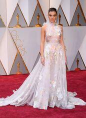 dress,gown,prom dress,long dress,wedding  dress,hailee steinfeld,Oscars 2017,red carpet dress,wedding dress,oscars