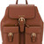 Michael Michael Kors - buckled backpack - women - Leather - One Size, Brown, Leather
