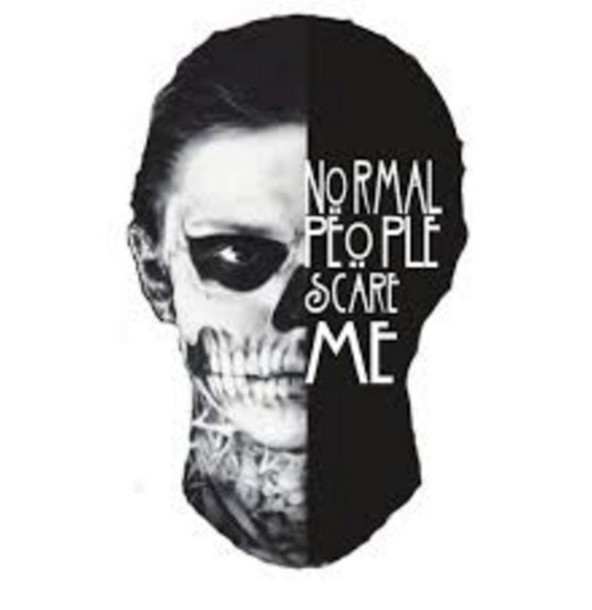 4c35b67d normal people scare me, american horror story, tattoo, skull ...