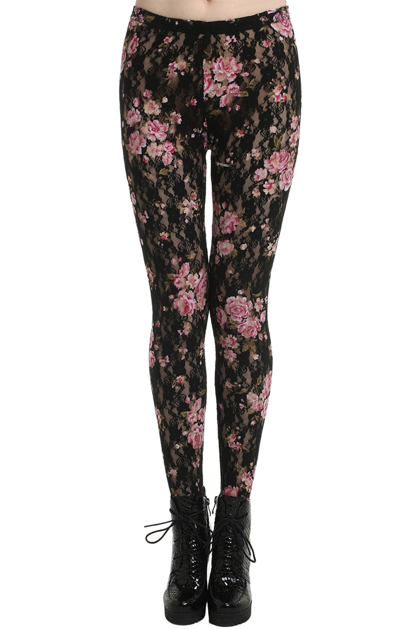 Find great deals on eBay for black floral leggings. Shop with confidence.