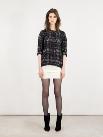 shirt skirt lookbook fashion iro