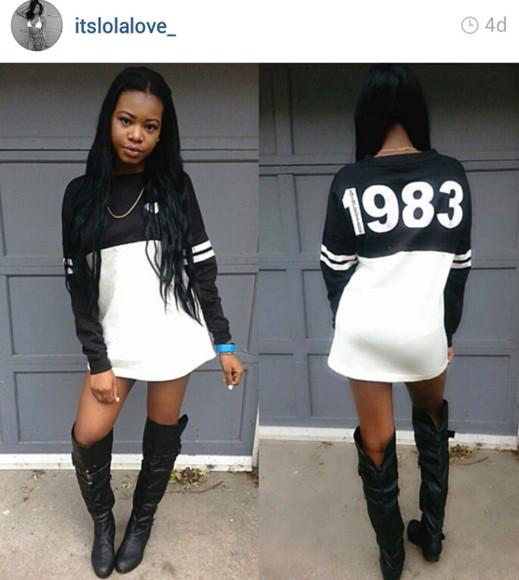 cardigan maxi boots black and white dress big shirt dressy top high knee booys styke streetwear instagramfashion