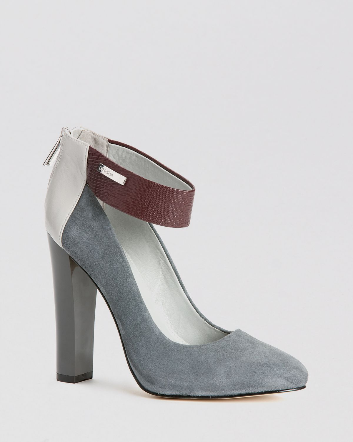 Calvin Klein Pumps - Ariel Ankle Strap High Heel | Bloomingdale's