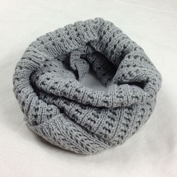 simple scarf leisure solid color