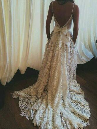 dress lace dress wedding dress white dress